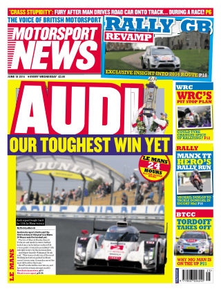 Motorsport News 18th June 2014