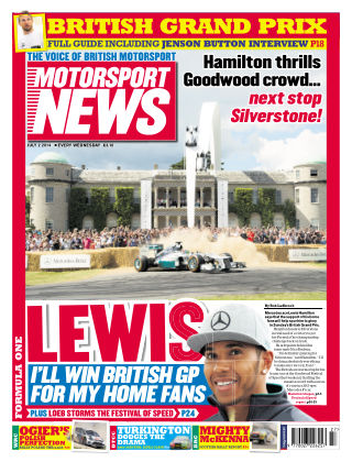 Motorsport News 2nd July 2014