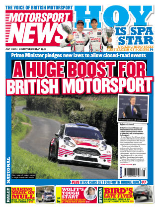 Motorsport News 16th July 2014