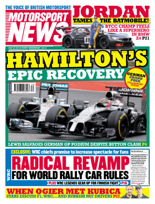 Motorsport News 23rd July 2014