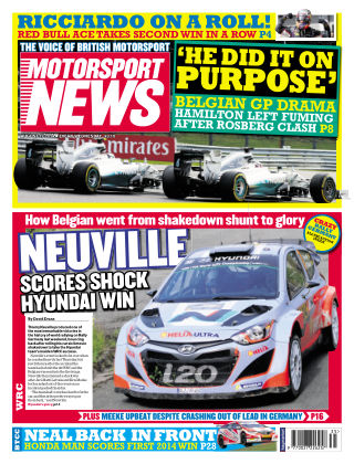Motorsport News 27th August 2014