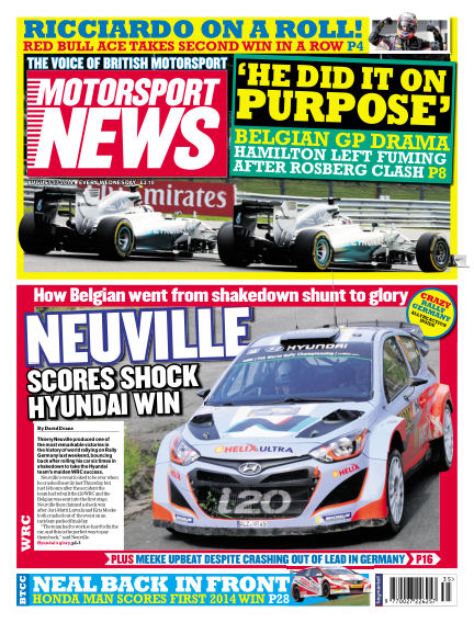 Motorsport News August 27, 2014 00:00
