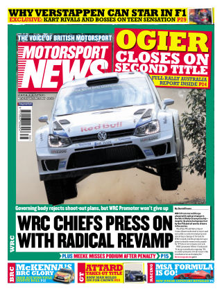 Motorsport News 17th September 2014
