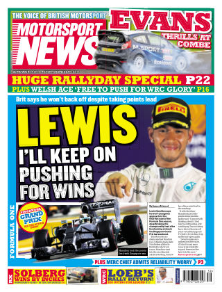Motorsport News 24th September 2014