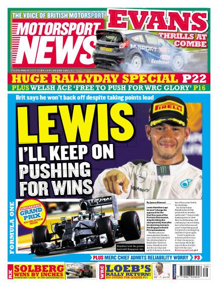 Motorsport News September 24, 2014 00:00