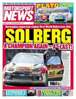 Motorsport News 1st October 2014