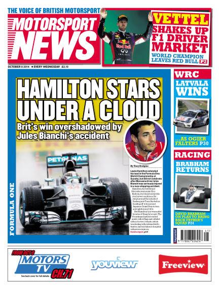 Motorsport News October 08, 2014 00:00