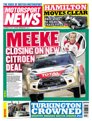 Motorsport News 15th October 2014