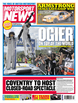 Motorsport News 29th October 2014