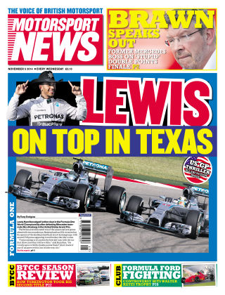 Motorsport News 5th November 2014