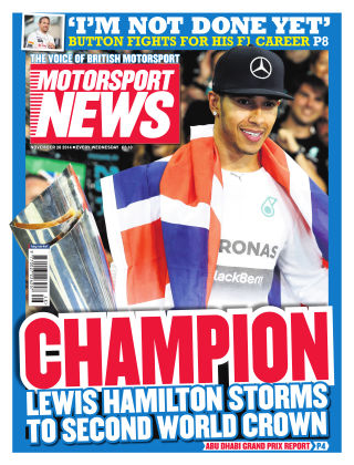 Motorsport News 26th December 2014
