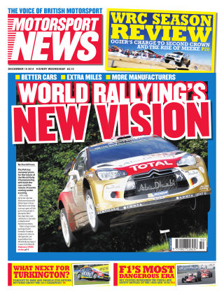 Motorsport News 10th December 2014
