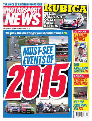 Motorsport News 31st December 2014