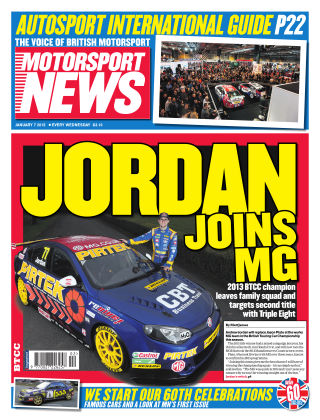 Motorsport News 7th January 2015