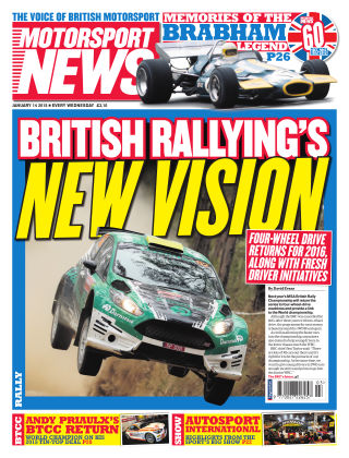 Motorsport News 14th January 2015