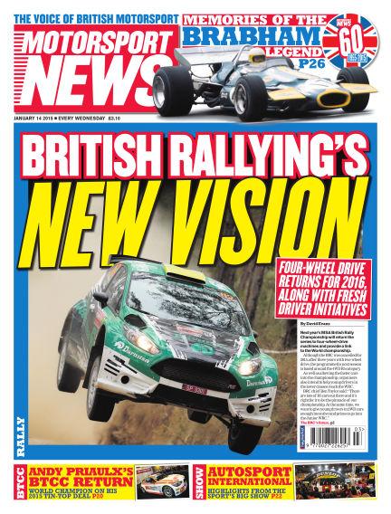 Motorsport News January 14, 2015 00:00