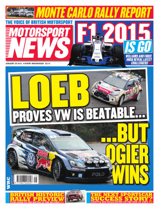 Motorsport News 28th January 2015