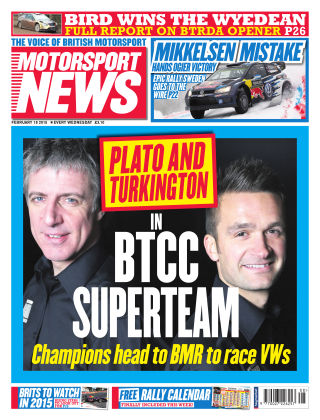 Motorsport News 18th February 2015
