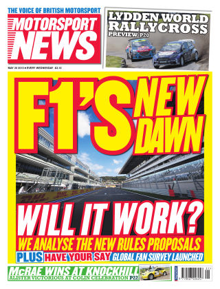 Motorsport News 20th May 2015
