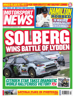 Motorsport News 27th May 2015