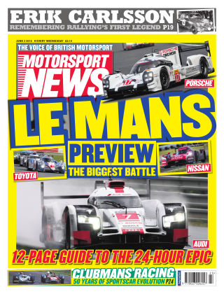 Motorsport News 3rd June 2015