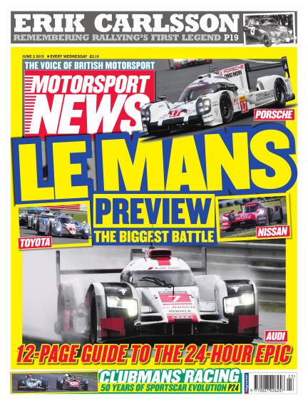Motorsport News June 03, 2015 00:00