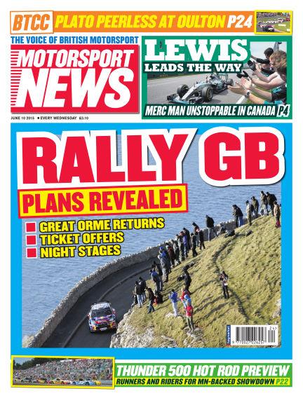 Motorsport News June 10, 2015 00:00