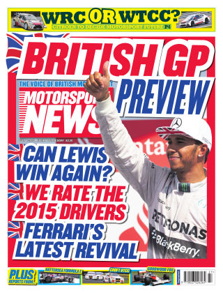 Motorsport News 1st July 2015