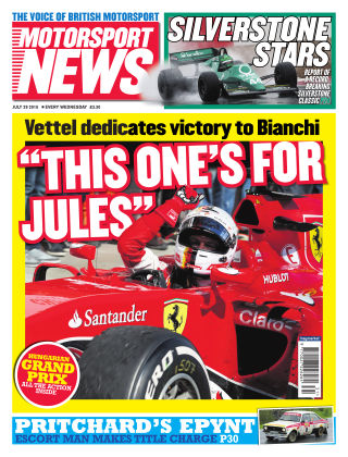 Motorsport News 29th July 2015