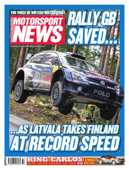 Motorsport News August 05, 2015 00:00