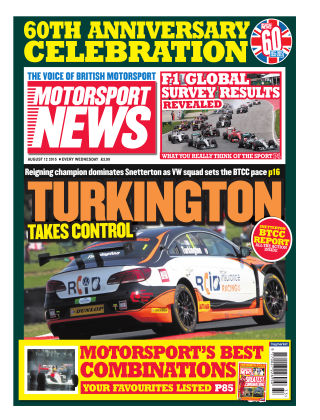 Motorsport News 12th August 2015