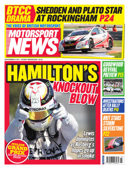 Motorsport News September 09, 2015 00:00