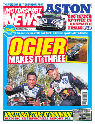 Motorsport News 16th September 2015