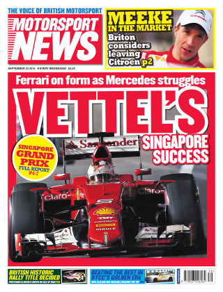 Motorsport News 23rd September 2015