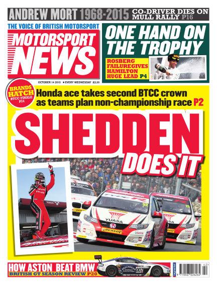 Motorsport News October 14, 2015 00:00