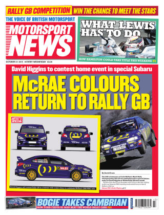 Motorsport News 21st October 2015