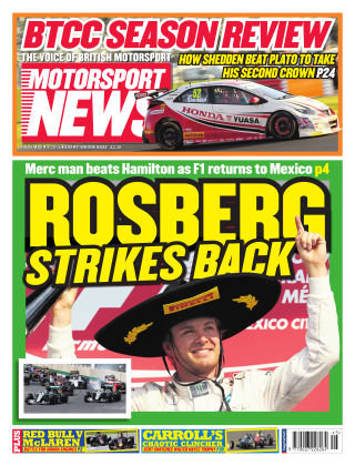 Motorsport News 4th November 2015