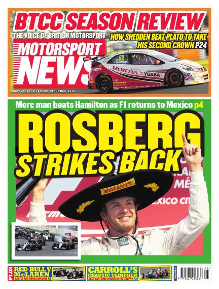Motorsport News November 04, 2015 00:00