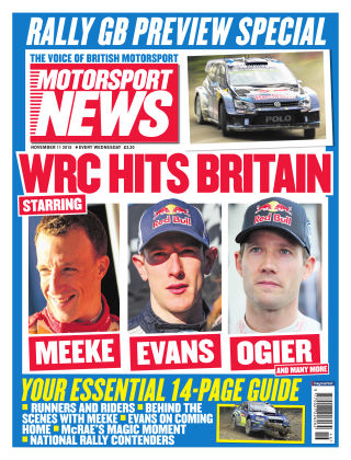 Motorsport News 11th November 2015