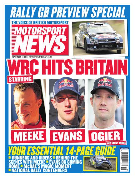 Motorsport News November 11, 2015 00:00