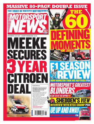 Motorsport News 16th December 2015