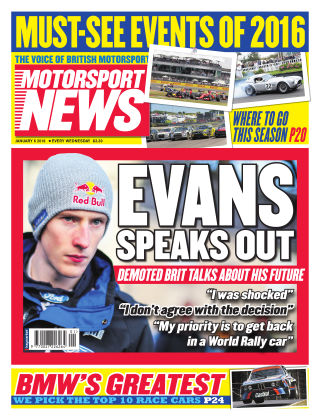 Motorsport News 6th January 2016