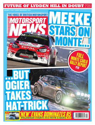 Motorsport News 27th January 2016