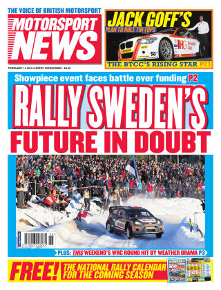 Motorsport News 10th February 2016