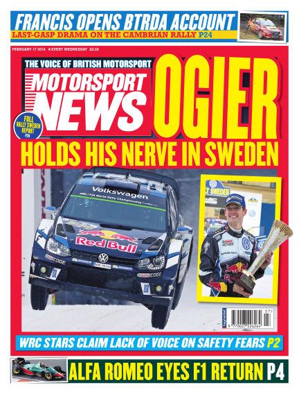 Motorsport News February 17, 2016 00:00