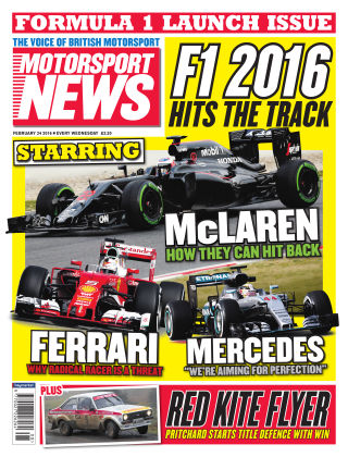 Motorsport News 24th February 2016