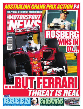 Motorsport News 23rd March 2016