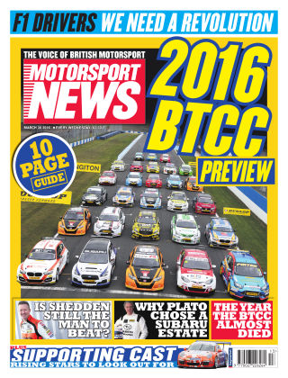 Motorsport News 30th March 2016