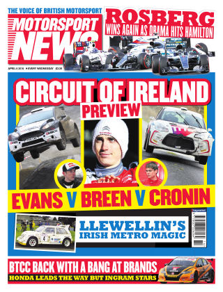 Motorsport News 6th April 2016
