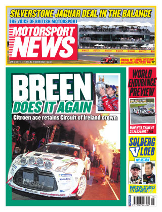 Motorsport News 13th April 2016